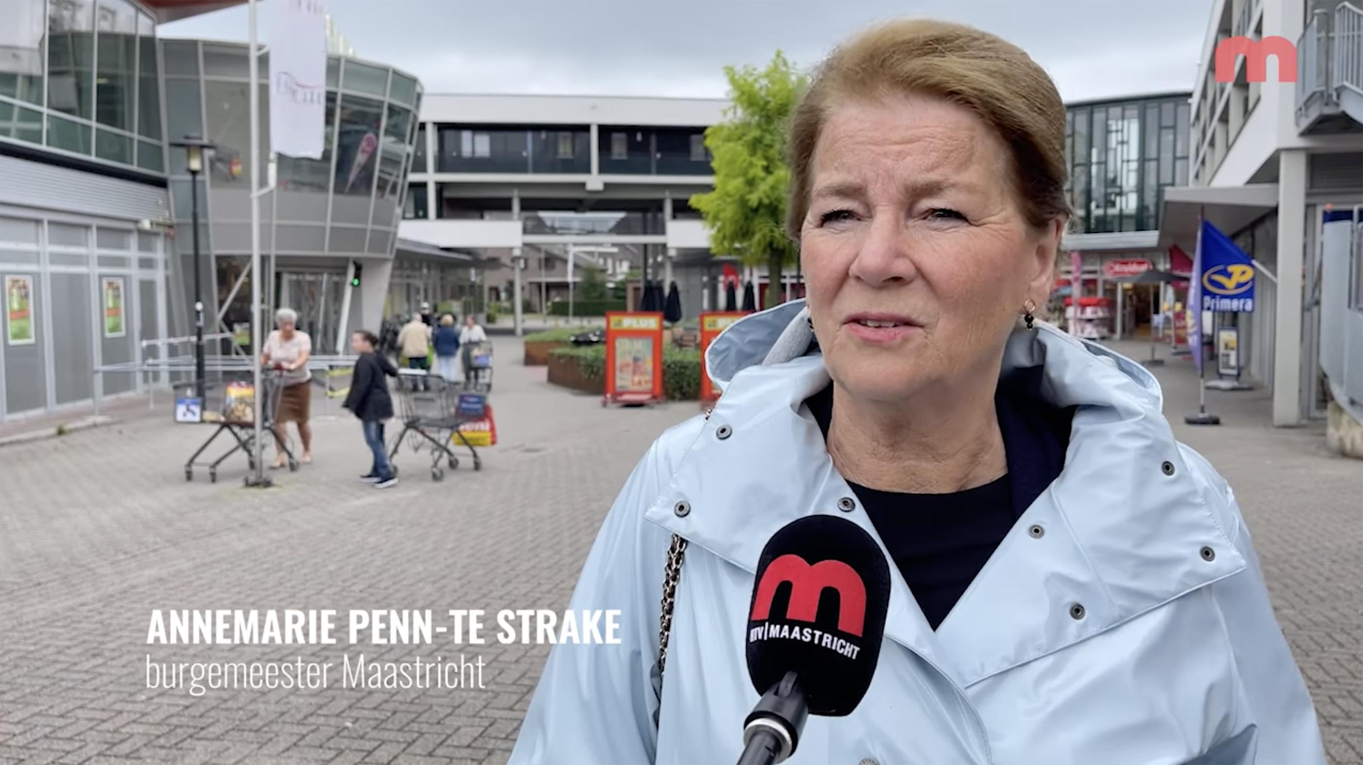 RTV Maastricht in gesprek met burgemeester Penn-Te Strake