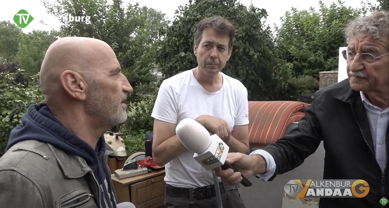 TV Valkenburg in gesprek met burgemeester Prevoo